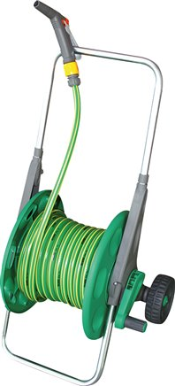 Hose reel and hose coil - standard, up to 7 bar