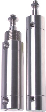 Clean profile cylinders ISO 6431 standard model series